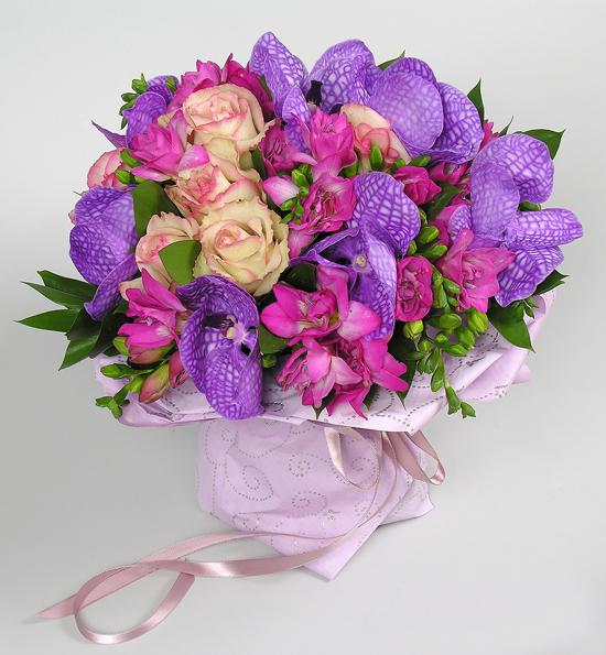 Необычные цветы с днём рождения